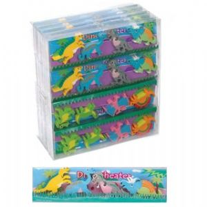 Dinosaur Erasers - Novelty Rubbers - Set of 4
